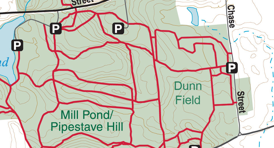 Map of Dunn