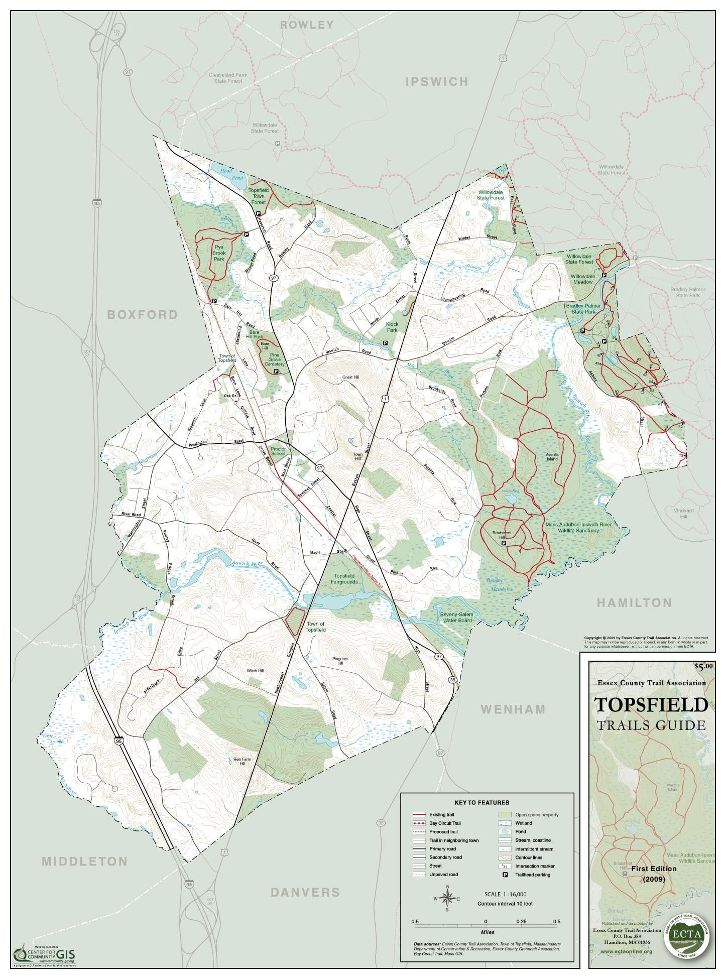 Buy an ECTA Trail Map | Essex County Trail ociation Buy Maps on
