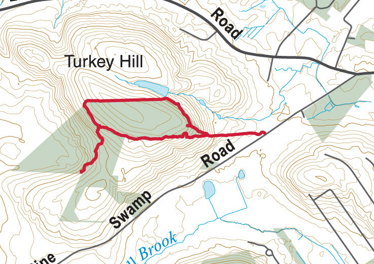 Turkey Hill Map