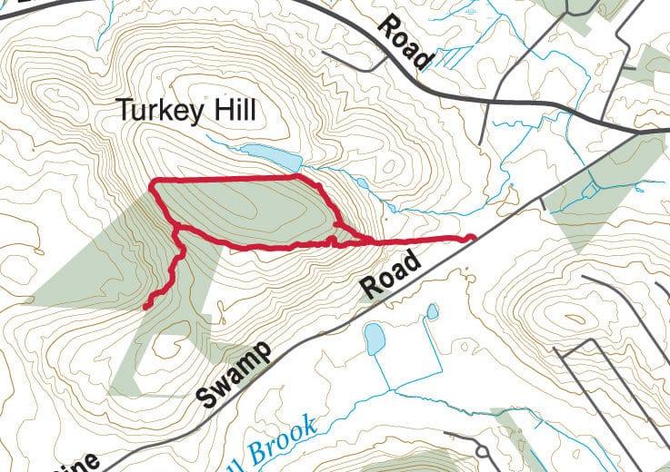 Turkey Hill Map